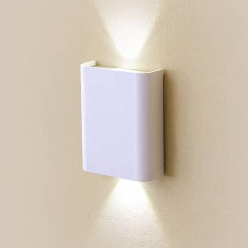 Настенный светильник Декарт белый CL704400