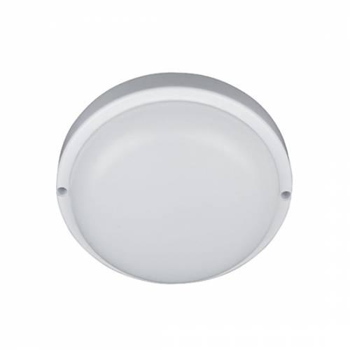Светильник светодиодный пылевлагозащищенный круглый 8W, 4000 К, IP54 пластик