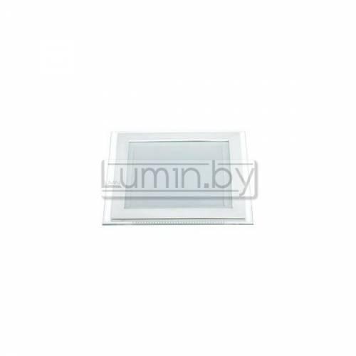 Светодиодная панель 16W 200x200mm, квадрат (стекло) Артикул: 02817