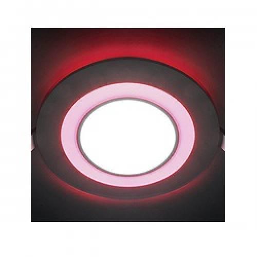 Светодиодная панель С-16WR круг (стекло) Артикул: 2550АЛ