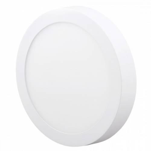 Светильник светодиодный универсальный диммируемый, круг, 12W, 4000К, IP20