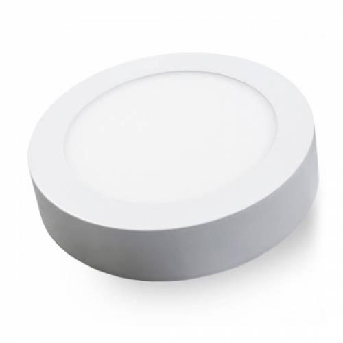 Светильник светодиодный универсальный диммируемый, круг, 18W, 4000К IP20