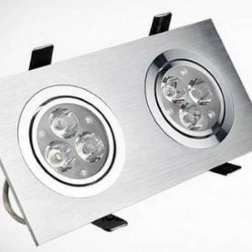 Светодиодный потолочный светильник DUO 6W