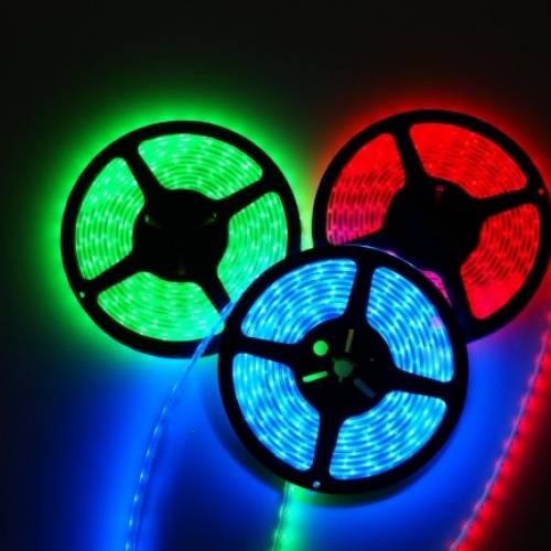 Cветодиодная RGB-лента SMD 5050, IP65 (60 диодов на метр) 24V