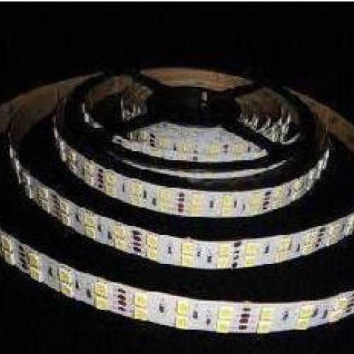 Открытая светодиодная RGB-лента SMD 5050, 24V, IP33 (120 диодов на метр)