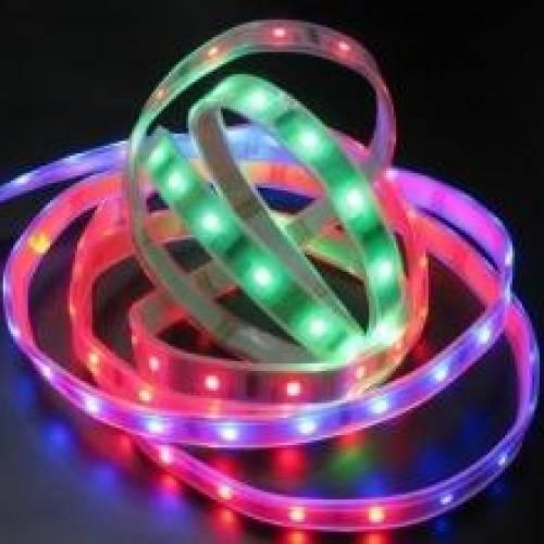 Влагозащищенная светодиодная лента SPI-RGB Бегущая волна, 150