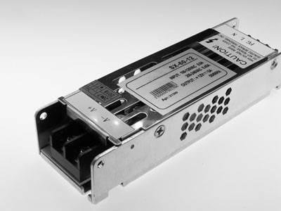 Блок питания для светодиодных лент SPE-60-12 (компактный)