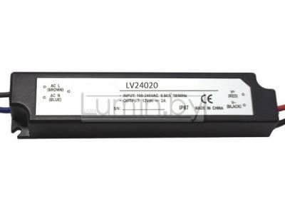 Блок питания для светодиодных лент LV24020