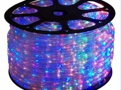 Светодиодный дюралайт RGB, бухта 10 метров, IP67, 13мм (72 диода на метр) 220В Артикул: 11654