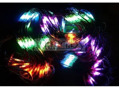 Гирлянда Чейзинг со светодинамикой, RGB свечение 2х4м, 540 LED Артикул: 75451