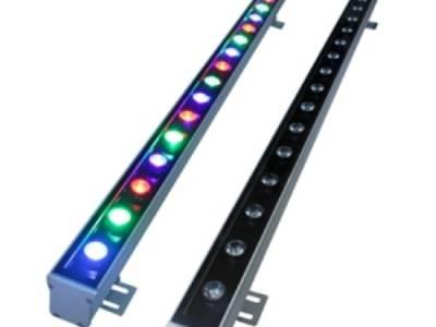 Линейный прожектор Wallwasher 18W RGB- 220V - IP65 (90004)