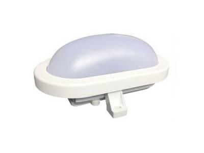Светильник светодиодный пылевлагозащищенный 6W овальный, 4000К, IP64