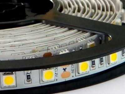 Светодиодная лента SMD 5050, IP33 (60 диодов на метр) 24 V