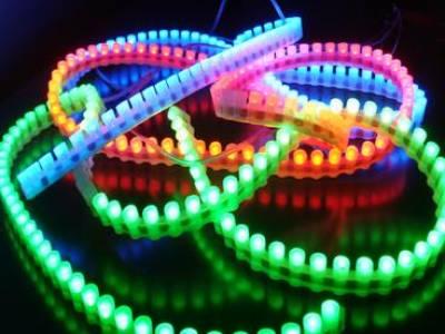 Герметичная светодиодная лента бокового свечения DIP LED 12 V