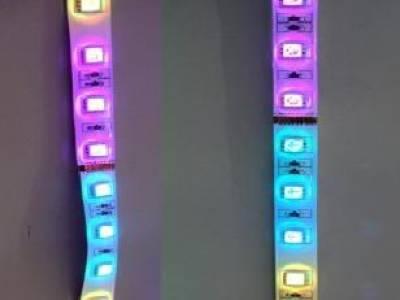 Светодиодная RGB-лента SMD 5050, IP33 (60 диодов на метр) 24 V