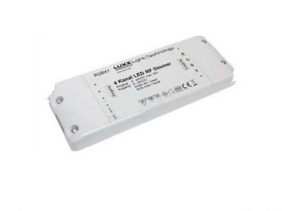 Мультизонный RGB-контроллер RGBX 10 зон (12V - 240W / 24V - 480W) Артикул: 87755